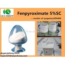 crop/plant protection product Fenpyroximate 5%SC/50g/LSC,CAS:111812-58-9;134098-61-6-lq