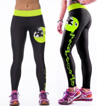 Nueva Moda Multicolor Mujeres 3D Legging Legging de Alta Cintura Yoga Yoga Running Sports Pants Good Quality Low Price