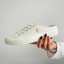Холщовые туфли-лодочки 2021 sunshine с вулканизированным логотипом