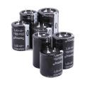 Snap popular de Etopmay no capacitor eletrolítico de alumínio terminal 330UF 200V Tmce18 16-500VDC