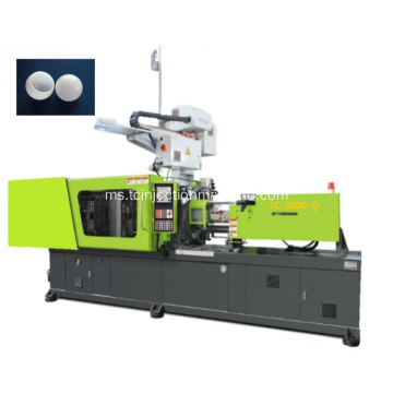 Lampu LED Perumahan Rotary Blowing Injection Molding Machine