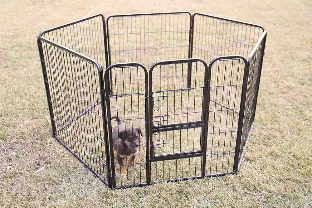 square tube pet playpen
