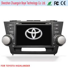 Video del coche del coche audio para Toyota Highlander