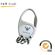 High Quality Metal Key Ring with 4 Rings (Y02418)