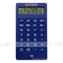 12 Digits LCD Display Desktop Calculator with Various Attractive Colors (CA1220)