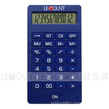 Calculatrice de bureau à affichage numérique 12 chiffres avec différentes couleurs attrayantes (CA1220)