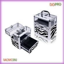 Zebra padrão de beleza caso para a arte do prego (scaf092)