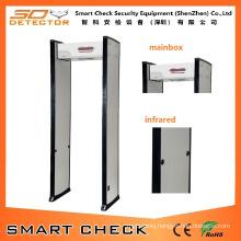Single Zone Walk Through Security Gate Security Body Scanner Gate
