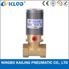 Q22HD-15 2/2 Way Piston Type Brass Material Pneumatic Control Valve