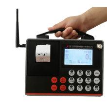 Indicador de báscula inalámbrico con pantalla OLCD con impresora