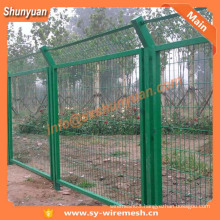 Shaanxi Factory ! PVC coated Wire Mesh Fence