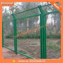 Fábrica de Shaanxi! Vedação de malha de arame revestida de PVC