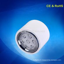 Prix d'usine avec haute qualité 230V led surface monté plafond lumière bas Blanc