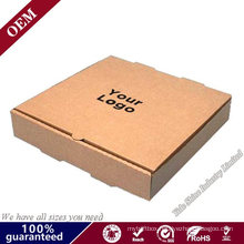 Brown Kraft Paper Corrugated Paper Fast Food Pizza Packing Box