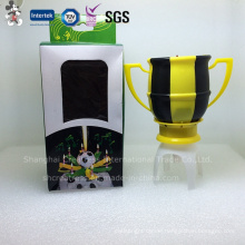 Sparkling Football Happy Birthday Music Candle (BMF-6)