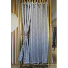 Tissu de rideau jacquard