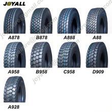 JOYALL JOYUS GIANROI marca 295 / 75R22.5 China Truck Tire Factory neumáticos TBR