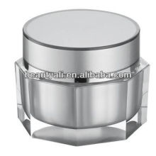 Octagon Night Cream Jar For Cosmetic Packaging