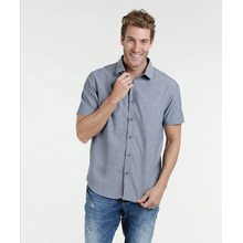 100% cotton fabric short sleeve causal man shirt