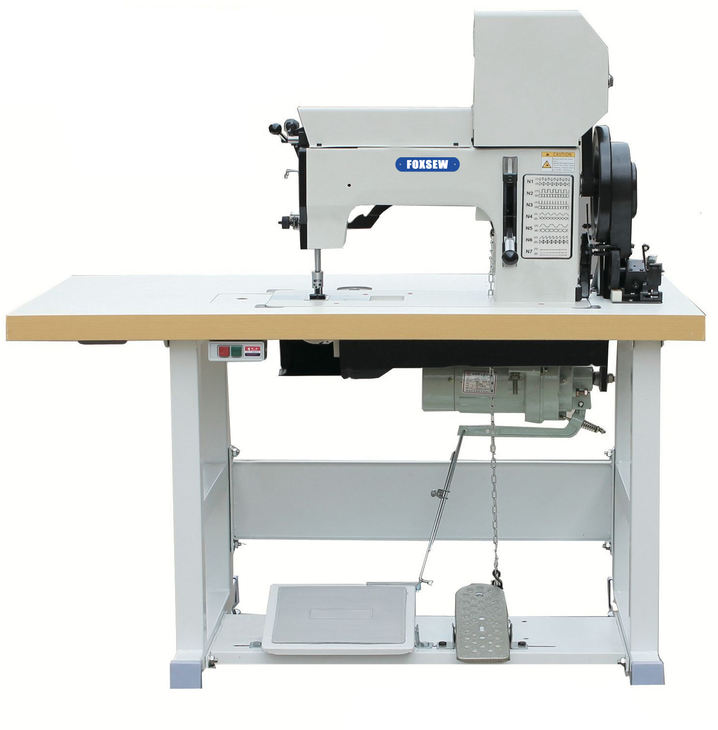 KD-204-105 Cams Controlled Heavy Duty Thick Thread Ornamental Stitch Sewing Machine