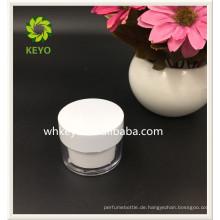 30g 50g Heißer verkauf hohe qualität bilden verpackung transparent farbige leere kosmetische kunststoff glas