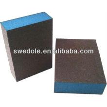 esponja de polimento abrasivo
