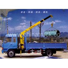 XCMG Camión grúa montada sobre camión de 8 toneladas