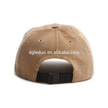 Sportliche Caps aus elastischem, elastischem Baseball-Cap mit sechs Panels