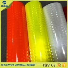 Lima reflectante de alta intensidad de vinilo fluorescente de alta intensidad de color amarillo limón