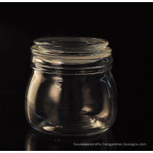 Glass Jar with Lid Glass Container Wholesale