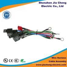 Wire Harness Manufacturer Produces with Nikle Plated Double Row Brass