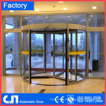 Hotel 3 puertas automática con puerta giratoria