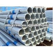 asme b36. 10m galvanized seamless steel pipe
