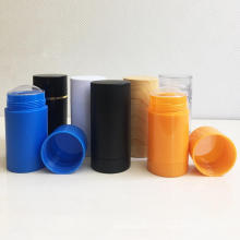 empty plastic cosmetic packaging empty deodorant container stick
