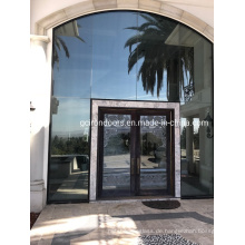 Exterior Wrought Iron Entry Doors with Tempered Glass