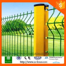 New galvanized steel fence, galvanized steel iron fence, steel iron fence panel