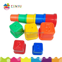 Educational Toy, Plastic Sorting Stacking Cups Toy for Kindergarten
