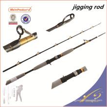 JGR032 2pc nano barra de pesca de fibra de carbono en blanco fuji varilla de jigging