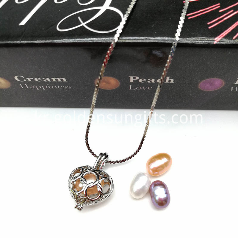 1pc Necklace And 1pc Oyster Pearl Pendant