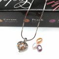 1 Ensemble Love Wish Wish Collier Pearl Heart Pendant