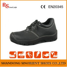 Сертификат Ce Black Black Buffalo Leather ESD Chef Safety Shoes RS046