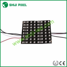 8 * 8 cm smd3535 rgb ws2811 matriz led 5v
