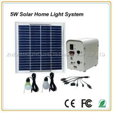 системы солнечного освещения дома 5W
