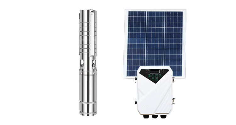 Off-Grid-Solarstromanlage Tiefbrunnenpumpe Solarbohrlochpumpe