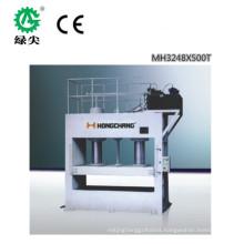 Full automatic short cycle melamine laminating cold press machine/wood working machine /laminating press