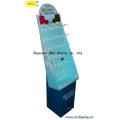 Торговый дисплей крючки бумаги, картона крючки Дисплей стенд, коробка подарка, бумага Дамп Бен (B & C-B001)