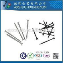 Taiwan Acier inoxydable Phillips Bugle Head Tube grossier Sharp Point Polymer Revêtu de la vis extérieure Revêtue