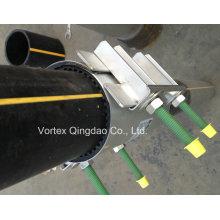 Universal Repair Clamp for Pipeline Leakage