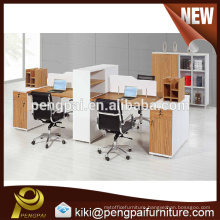 Modern executive work partition four four person
