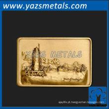 personalize fivela de cinto de metal, porta de alta qualidade personalizada de fivelas de cinto de Los Angeles